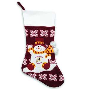 24 NFL Washington Redskins Knit Snowman & Snowflake
