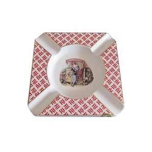 Romeo y Julieta Ashtray   Ceramic  Original Logo   9x9