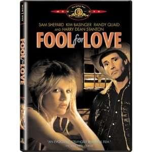 Fool for Love Sam Shepard, Kim Basinger, Harry Dean