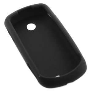 GTMax Black Silicone Skin Soft Cover Case for AT&T Samsung Solstice