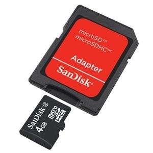 NEW 4GB MicroSD Memory Card (Flash Memory & Readers)