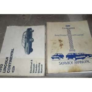 Shop Repair Manual Set (service manual, and the electrical and vacuum