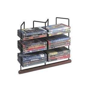 Case Logic Wood / Wire DVD Table Tower, Holds 36 DVDs