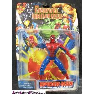 SpiderMan Marval Universe Spider Man : Toys & Games :