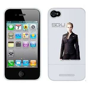 Tamara Johansen Stargate Universe on AT&T iPhone 4 Case by