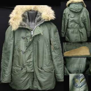 Military Vintage Jackets/Coats N3 B & Military Clothing