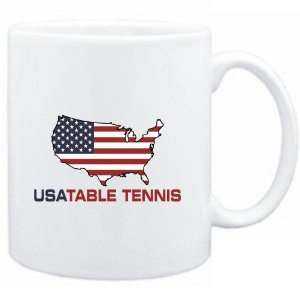 Mug White  USA Table Tennis / MAP  Sports Sports
