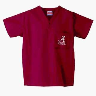 Alabama Crimson Tide Ncaa Classic Scrub 1 Pocket Top