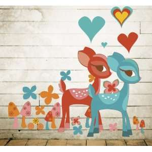 WallCandy Arts Deerly Beloved Wall Decals Baby