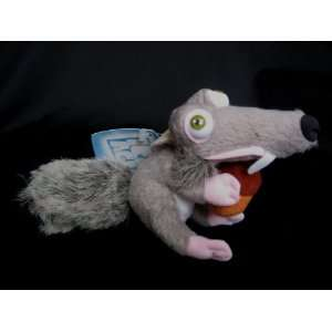 Ice Age 8 Plush Scrat the Squirrel Bean Bag Toys & Games