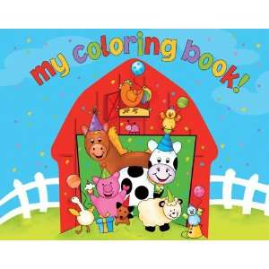Farm Animals Coloring Books Toys & Games