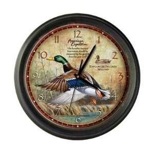 New American Expedition Wall Clock Mallard High Quality
