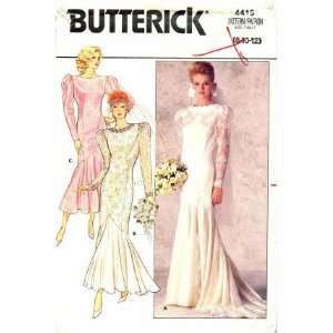 Pattern Brides Wedding Dress Gown Size 8   12 Arts, Crafts & Sewing