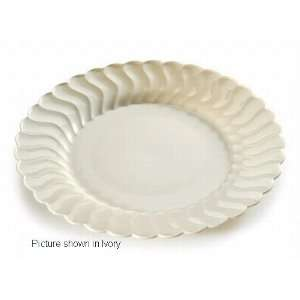 WH Flairware 9 in. White Dinner Plates 180 Pieces