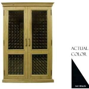 440 Bottle Wine Cellar   Glass Doors / Black Cabinet Appliances