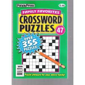 Penny Press Cross Word (Over 355 Puzzles, # 47) Various Books