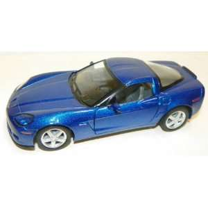 Scale Diecast 2007 Chevrolet Corvette Z06 in Color Blue Toys & Games
