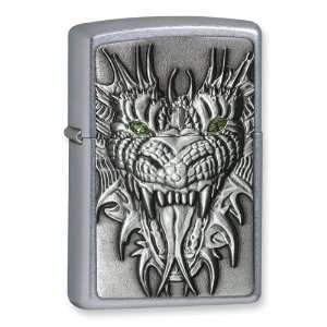 Zippo Mighty Dragon Street Chrome Lighter Jewelry