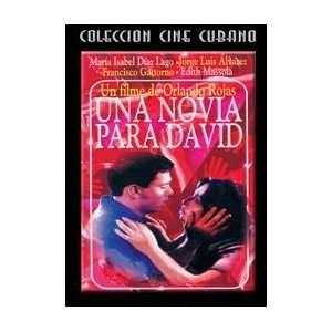 UNA NOVIA PARA DAVIDDVD Cubano NTSC/Region 1(US and CANADA). Cuban
