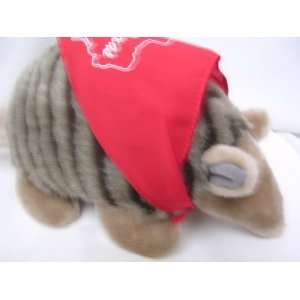 Texas Armadillo Plush Toy 15 Collectible