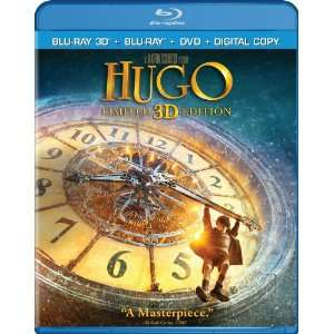 Hugo (Three disc Combo: Blu ray 3D / Blu ray / DVD / Digital Copy