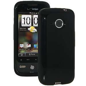 New High Quality Amzer Luxe Argyle Skin Case Black For Htc