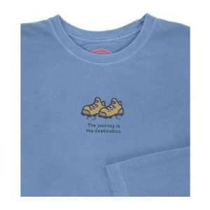 LIFE IS GOOD JOURNEY L/S CRUSHER TEE   WOMENS Sports