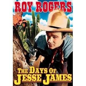 Days of Jesse James   11 x 17 Poster
