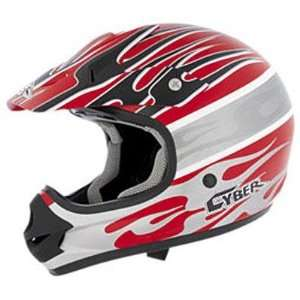 Visor for UX 31C Helmet, Red/White/Silver Blaze 640174 Automotive