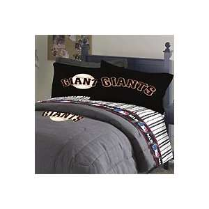 MLB San Francisco Giants   4pc Bed Sheet Set   Full Size