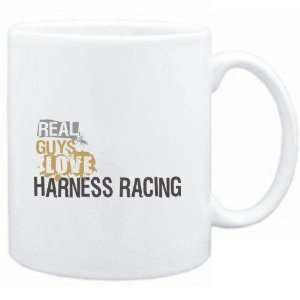 Mug White  Real guys love Harness Racing  Sports  Sports