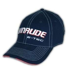 BRP Evinrude E Tec Navy Cap Hat