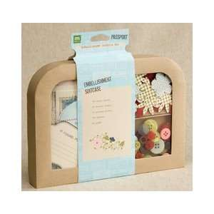 Making Memories Passport Suitcase Embellishment Kit 155
