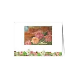 BEAUTIFUL MOTHER LOVELY ROSES BIRTHDAY WISH Card: Health