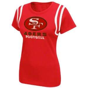 San Francisco 49ers Womens Legacy Lovin The Game T Shirt