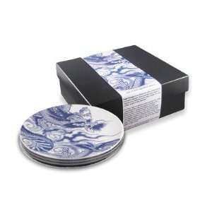InkDish Irezumi 4 Side Plates Gift Set Kitchen & Dining