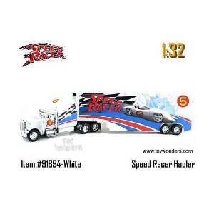 JADA SPEED RACER ROAD RIGZ PETERBILT HAULER TRAILER 132
