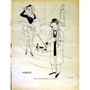 LE RIRE (THE LAUGH) FRENCH HUMOR MAGAZINE LADY DOG MAN: