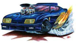 Mad Max Interceptor Muscle Car Mouse Pad