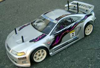Radio Remote Control RC Nitro Gas Car 2SP 4WD SALEEN R/C NITRO CAR 55