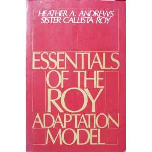 Model (9780838522714): Sister Callista Roy Heather A. Andrews: Books