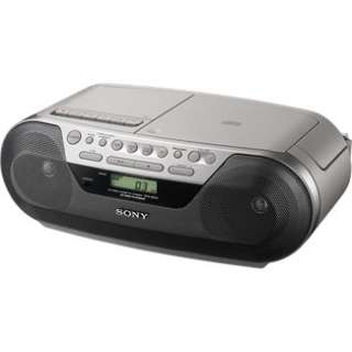 Sony CFD S05 Digital CD Radio Cassette Player in Portable CD Players