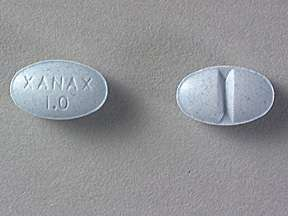 Picture XANAX 1MG TABLETS  Drug Information  Pharmacy  Walgreens