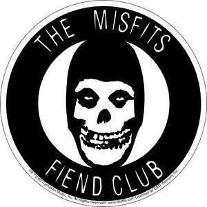 The Misfits Fiend Club Sticker Decal New Punk