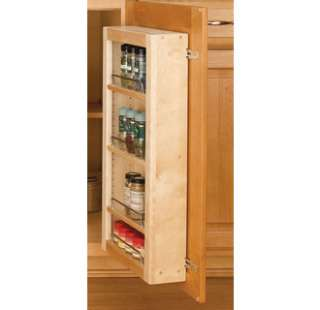 Rev A Shelf 4WDP18 45 4WP Series 45 Door Unit Single Base Pantry with