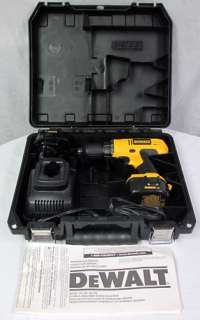 DeWalt DC727 3/8 12V Drill Driver Cordless Power Tool w/ Manual