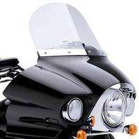 Kawasaki Fire and Steel 14 Inch Windshield   Kawasaki Vulcan 1700