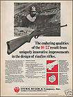 1972 STURM, RUGER RIFLE Vintage AD 4 Models Shown items in