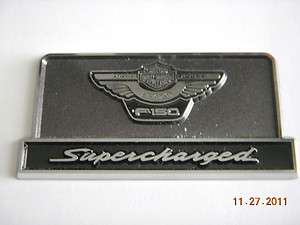 Ford F 150 Supercharged Harley Davidson Anniversary Emblem