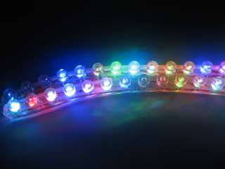 72 LED STRIP MOTORCYCLE CAR LIGHTS FLEXIBLE GRILL LIGHT